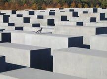 Förintelseminnesmärke i Berlin royaltyfri bild
