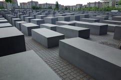 Förintelseminnesmärke i Berlin Royaltyfria Bilder