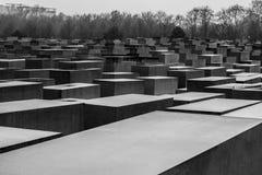 Förintelseminnesmärke i Berlin arkivfoton
