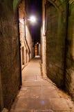 Förkämpar stänger sig, Edinburg, Skottland, BW versionslutet, Edinburg Fotografering för Bildbyråer