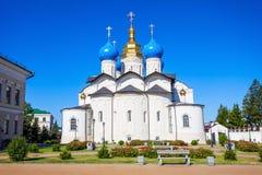 Förklaringdomkyrka, Kazan Kreml arkivbild