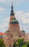 Förklaringdomkyrka, Kharkiv Arkivfoto