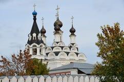 Förklaringkloster i Murom, guld- cirkel av Ryssland royaltyfria bilder
