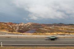 Rio Tinto bryter Arkivbilder