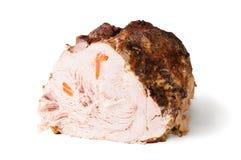 Förkylning bakat griskött Arkivfoto