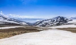 Förkylning landskap Arkivfoto