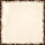 Förkylning - pressande papper Arkivfoto