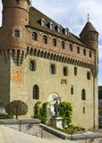 Förlägga de La Chateau av Lausanne Royaltyfri Fotografi