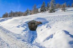 Förlägga för vintersemestrar royaltyfri foto