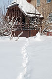 Förlägga för vintersemestrar Royaltyfria Bilder