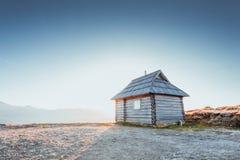 förlägga i barack berg Royaltyfri Fotografi
