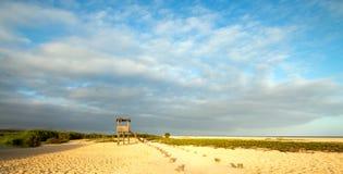 Förlägga i barack beskåda - San Jose Del Cabo Estuary/lagunnord av Cabo San Lucas Baja Mexico royaltyfri foto