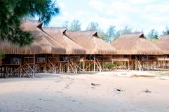förlägga i barack mozambique Fotografering för Bildbyråer