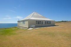 förlägga i barack remote för kust ferie Royaltyfri Foto