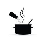 Förlägga kryddaillustrationen Fotografering för Bildbyråer