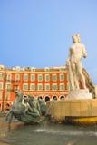 Förlägga Massena i Nice Royaltyfria Foton