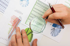förlagegraftabeller Fotografering för Bildbyråer