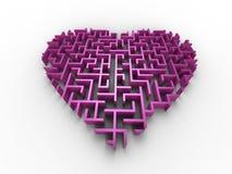 Förlora din hjärta Arkivbilder