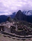 Förlorad Incan stad Machu Picchu, Peru Arkivfoton
