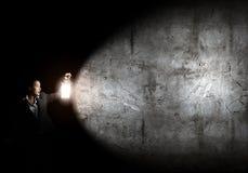 förlorad kvinna Fotografering för Bildbyråer