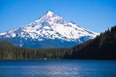förlorad montering för huv lake royaltyfri fotografi