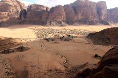 förlorad petra-rock för stad jordan Arkivbild