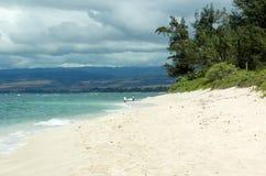 förlorad strand royaltyfria bilder