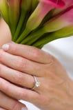 förlovningsring Royaltyfria Bilder