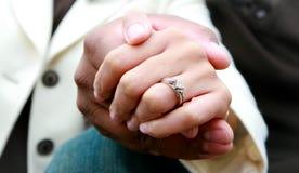 förlovningsring Royaltyfri Fotografi