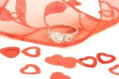 förlovningsring royaltyfria foton