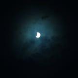 förmörka sol- Arkivfoton