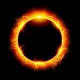 förmörka sol- Fotografering för Bildbyråer