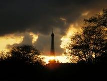 Förmyndaren av tornet Arkivfoton