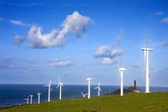 förnybar energi Arkivfoto