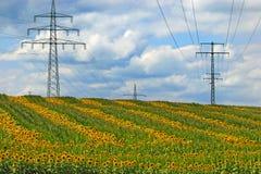 Förnybar energi Arkivbild