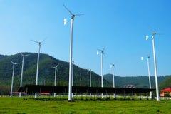förnybar energi arkivbilder
