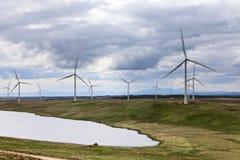 förnybara energigeneratorer Royaltyfri Bild