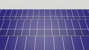 Förnybara energikällorväxt med en placeholder lager videofilmer