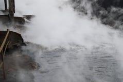 förorenat vatten Royaltyfria Foton