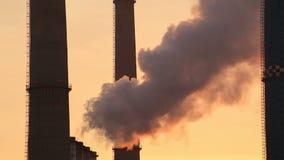 förorening stock video