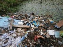 förorening Royaltyfria Bilder