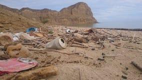 Förorening i Afrika, Angola Arkivbild