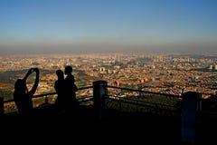 FÖRORENING/VINTER/SAO PAULO/SP Fotografering för Bildbyråer