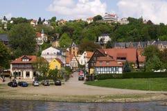 Förorter av Dresden royaltyfria bilder