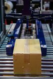 Förpackande maskin för ask arkivfoton