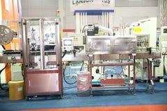 Förpackande maskin för mat Arkivfoton