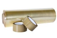 Förpackande material för produktion, lager, kontor Royaltyfria Foton