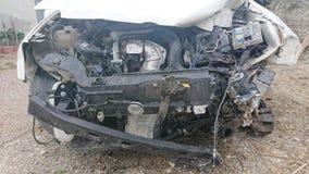 Försäkring för reparation för bilolycka arkivbilder