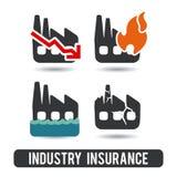 Försäkringdesign Arkivfoto