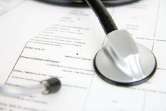 försäkringläkarundersökning Arkivbilder